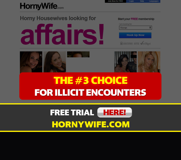 front page for horny wife