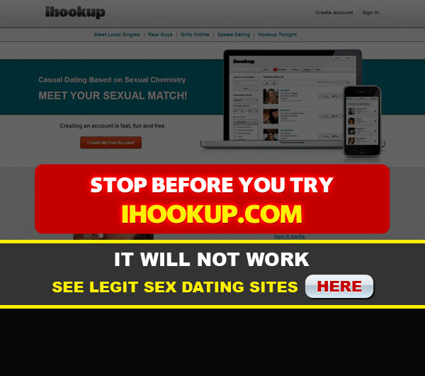 main page for ihookup