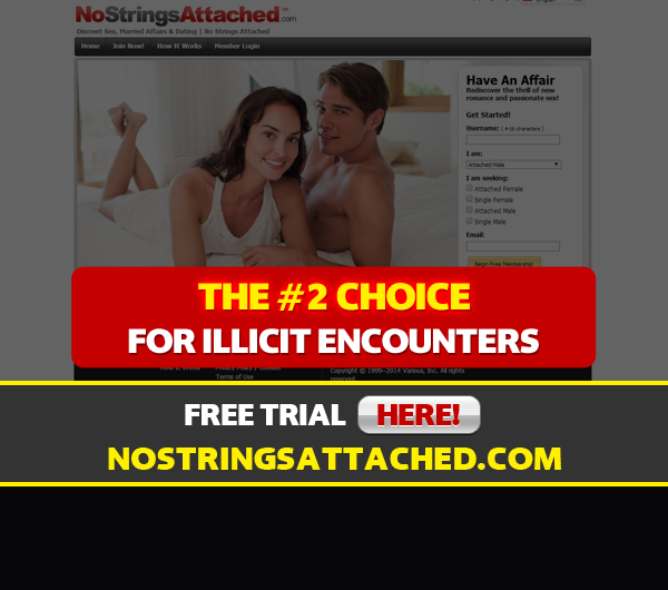 no strings attached front page