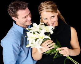 """""""Flowers make an excellent gift for the first date"""""""